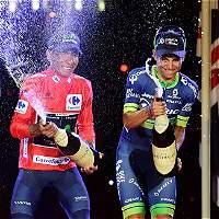 Colombia celebró en redes el triunfo de Nairo y el podio de Esteban