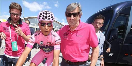 'Quintana ha madurado más rápido que Induraín': Unzué, jefe de Nairo