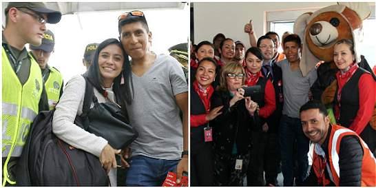 Crónica de una llegada no anunciada por Nairo Quintana