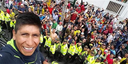 'Mi presencia es una forma de devolverles el apoyo': Nairo Quintana