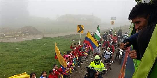 Nairo Quintana hizo el paseo del campeón por carreteras boyacenses