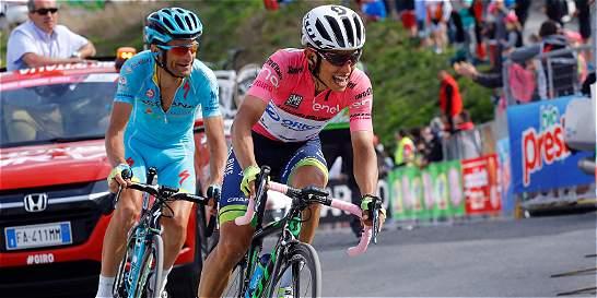 El Giro de Italia 2017: a la medida de Chaves; a Urán se le complica