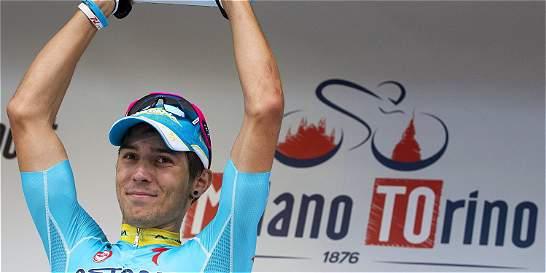 El italiano Diego Rosa, nuevo ciclista del equipo Sky