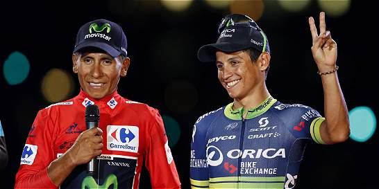 Nairo y Chaves, entre los mejores ciclistas del premio 'Vélo de Oro'