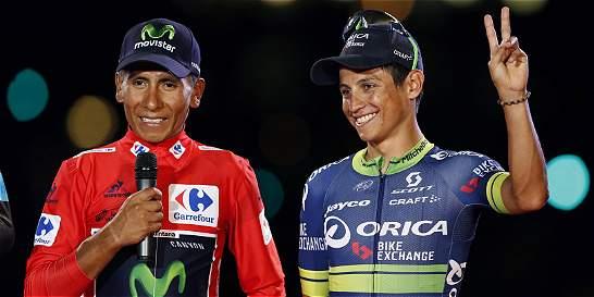 Quintana y Chaves bañaron de oro al ciclismo colombiano