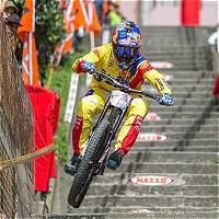 Marcelo Gutiérrez, campeón del Downhill de Manizales