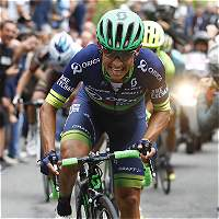 Esteban Chaves, subcampeón del Tour Down Under de Australia