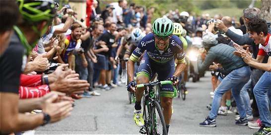 Esteban Chaves, subcampeón del Tour Down Under de Australia