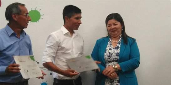 Nairo Quintana entregó aula digital en colegio de Arcabuco