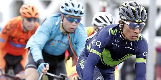 Nairo Quintana subió un puesto y es noveno en la Comunidad Valenciana