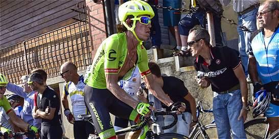 Urán subió una casilla, es octavo en La Vuelta a Andalucía