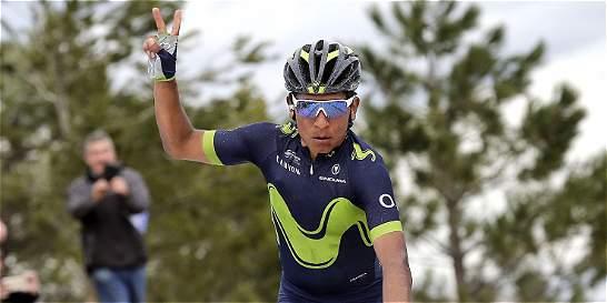 Nairo fue décimo en la etapa  y Rui Costa, líder del Tour de Abu Dhabi