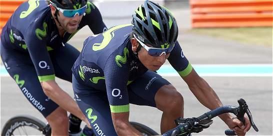 Nairo acabó de 13 en el Tour de Abu Dabi
