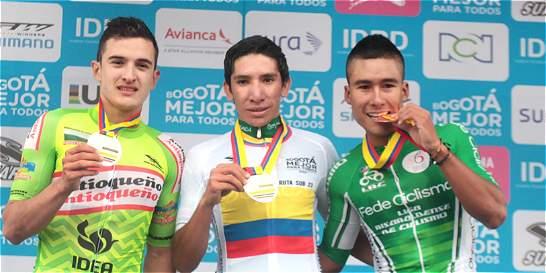 Róbinson López, oro en la prueba de fondo sub-23