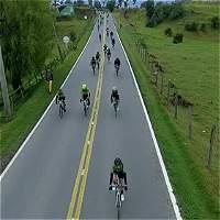 Así vivió Colombia una carrera de ciclismo amateur