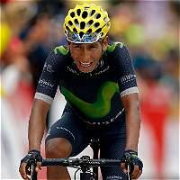 Nairo Quintana corre en el Gran Premio Industria en Italia