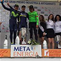 Urán, tercero en el Gran Premio Industria & Artigianato en Italia