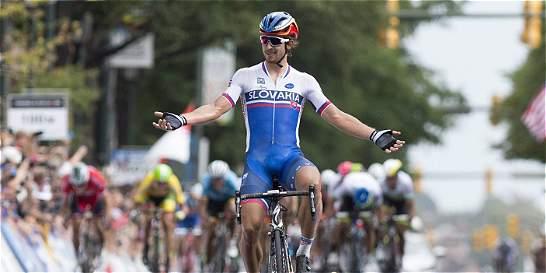 Peter Sagan ganó la tercera etapa de la Tirreno-Adriático