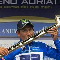 Nairo Quintana defendió el liderato en la Tirreno Adriático