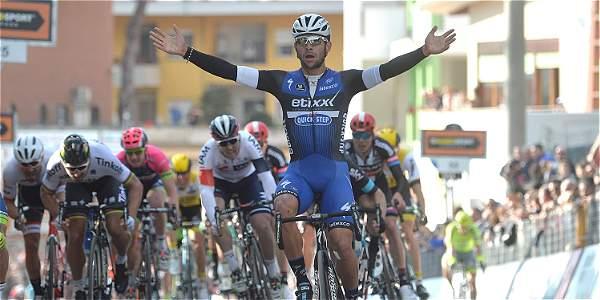 Fernando Gaviria es uno de los favoritos para ganar la Milán-San Remo, el primero de los cinco monumentos del ciclismo mundial, que se disputará el próximo sábado.