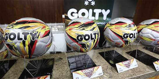 'Invictus', el nombre del nuevo balón del fútbol colombiano