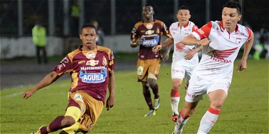 Santa Fe y Tolima, con bajas, palpitan por la final de la Copa