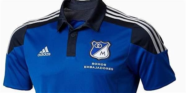 Camiseta de Millonarios para el 2015