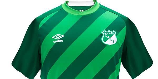 Nueva camiseta del Deportivo Cali
