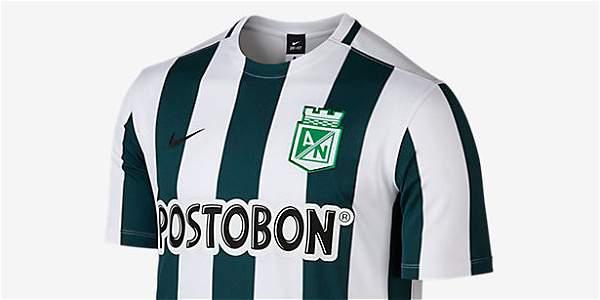Camiseta de Nacional para el 2015