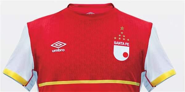 Camiseta de Santa Fe para el 2015