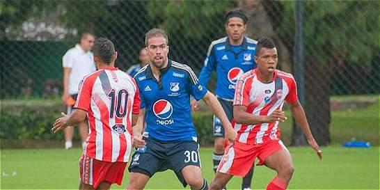 Millonarios jugó primer amistoso de pretemporada: 0-0 contra Expreso