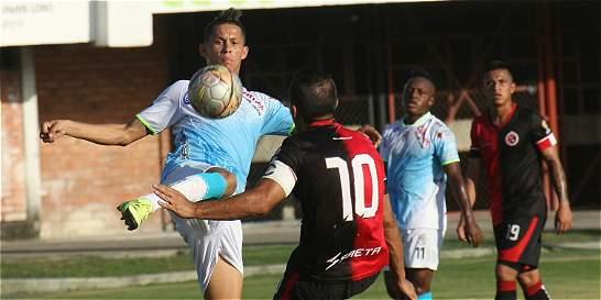 Cúcuta tomó un respiro en la Liga: goleó 4-0 a Jaguares