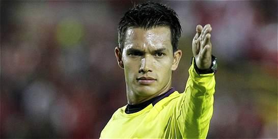 Nicolás Gallo será el árbitro de Santa Fe vs. Millonarios