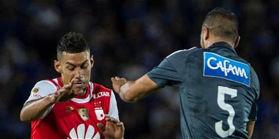 Yeison Gordillo, el equilibrio de Santa Fe contra Millonarios