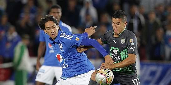 Millonarios no mostró buen fútbol, pero le empató a Equidad en la Copa