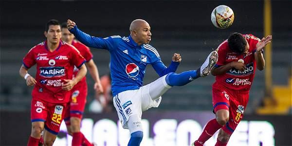 Un Millonarios sin ideas empató 1-1 en casa con Deportivo Pasto