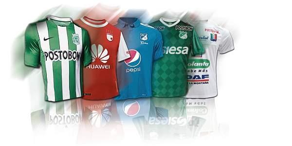 Mercado de camisetas en el fútbol colombiano 2016 - Archivo Digital ... f715d3b6940