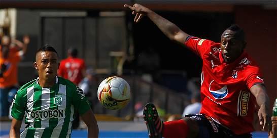 Medellín y Nacional no se hicieron daño en el Atanasio: empataron 1-1