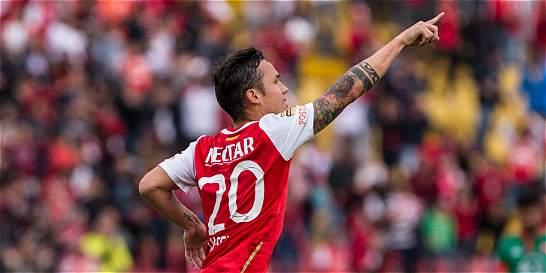 Seijas le dio la victoria a Santa Fe: 1-0 contra Patriotas