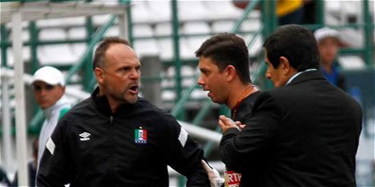 DT del Once Caldas se enfrentó con los hinchas