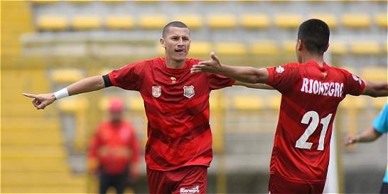 Rionegro se trepó en la Liga y es el nuevo líder