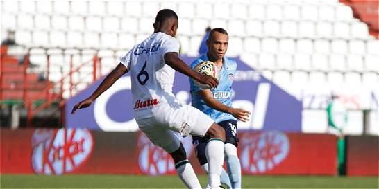 Once Caldas y Junior empataron 0-0 en un partido para olvidar