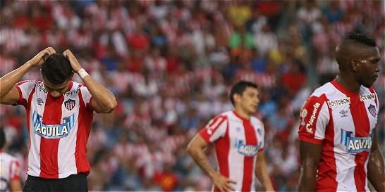 Nacional, Junior y Millonarios no aprovecharon la derrota de Rionegro