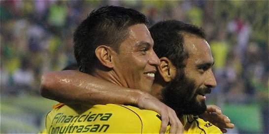 Alianza Petrolera sigue sin ganar de local: igualó 2-2 con Pasto