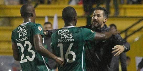 Mario Alberto Yepes debutó con empate como técnico del Deportivo Cali