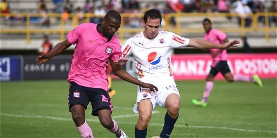Boyacá Chicó empató 1-1 contra Medellín que se mantiene de líder