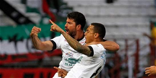 Once Caldas derrotó 3-1 a Patriotas y sigue con vida en la Liga