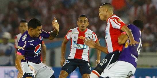 Junior y Medellín empataron 1-1 en la ida de la final de la Liga
