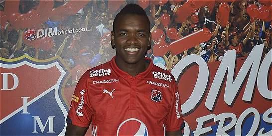 Carlos Ibargüen, nuevo delantero de Independiente Medellín