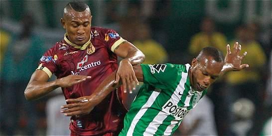 Rescaldani le salvó un punto a Nacional en empate 2-2 contra Tolima